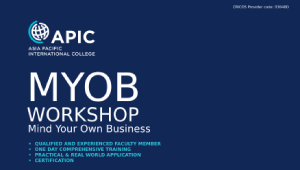 MYOB Workshop - 30th August