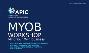 MYOB Workshop - 30th August