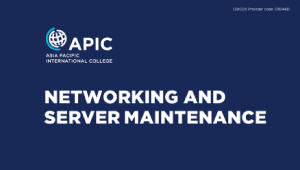 Workshop - Networking and Server Maintenance - 12th September