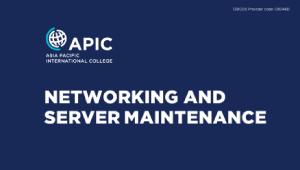 Workshop - Networking and Server Maintenance - 12th September