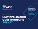 Unit Evaluation Questionnaire Survey - 26 Aug - 22 Sep